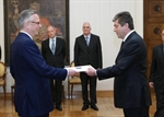 Presentation of Credentials in Bulgaria