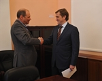 Meeting with Russian Fisheries Authority