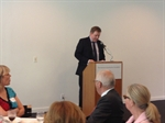 The Prime Minister of Iceland spoke at IACC´s annual meeting in New York