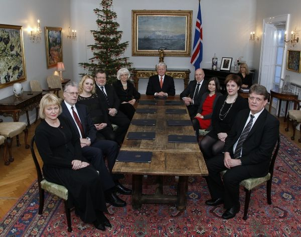 A new Cabinet in Iceland