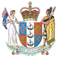 Coat of arms New Zealand