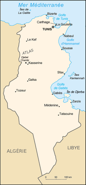 Tunisie_carte